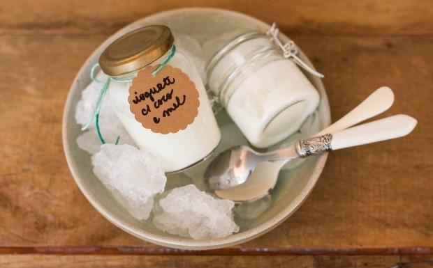 Cozinha Prtica Vero, iogurte com coco e mel (Foto: Divulgao/Editora Panelinha)