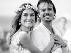 Thaila Ayala relembra casamento com Paulo Vilhena: 'Eterno namorado'