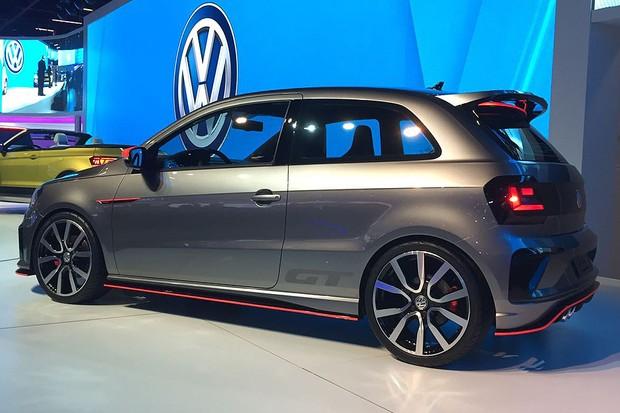 Volkswagen Gol GT Concept no Salão do Automóvel de 2016 (Foto: Gabriel Aguiar/Autoesporte)