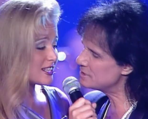 Angélica canta em Especial com Roberto Carlos (Foto: Estrelas/TV Globo)