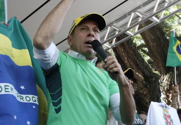 O prefeito João Doria (PSDB) (Foto: HELOISA BALLARINI / SECOM)
