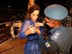 Ivete Sangalo é homenageada pela polícia militar de Sergipe