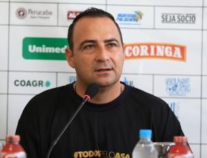 Paulo Foiani, técnico do ASA (Foto: Ascom/ASA)