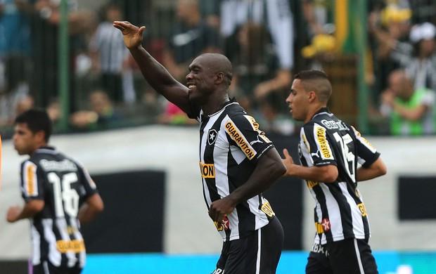 Seedorf comemora, Botafogo x Nova Iguaçu (Foto: Satiro Sodre/AGIF)