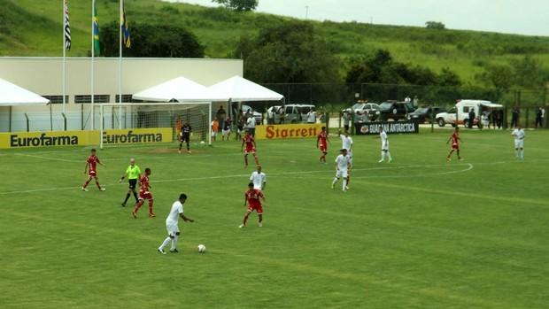 Desportivo Brasil x América-RN - Copa São Paulo (Foto: Fernando Cesarotti/Globoesporte.com)
