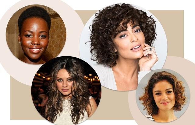 Cortes para cabelos ondulados, cacheados e crespos (Foto: Getty Images e Divulgação)