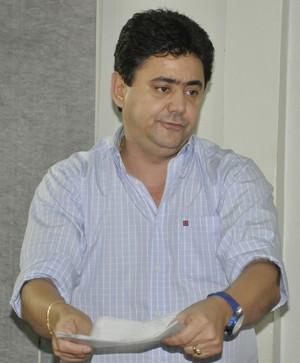 Éder Moraes presidente do Mixto (Foto: Robson Boamorte)
