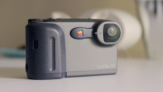 Quicktake foi aventura frustrada da Apple entre câmeras digitais (Foto: Reprodução/Elson de Souza)