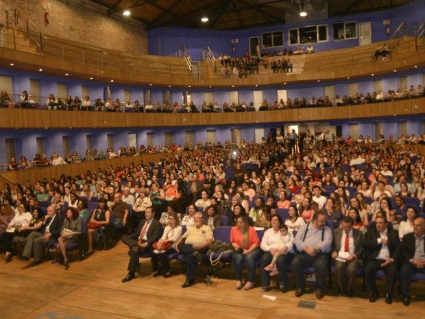 No ano passado, abertura do evento lotou o Polytheama (Foto: Arquivo PMJ)