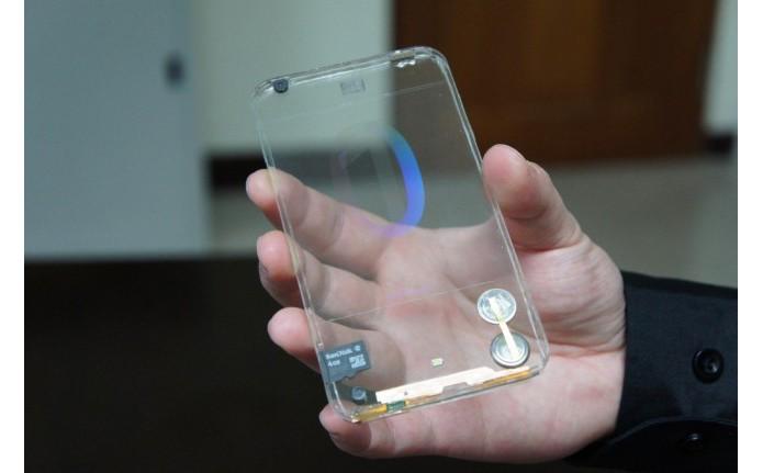 Possível projeto da Samsung pode se parecer com Polytron, smart transparente de empresa Taiwanesa (Foto: Reprodução/Digital Trends) (Foto: Possível projeto da Samsung pode se parecer com Polytron, smart transparente de empresa Taiwanesa (Foto: Reprodução/Digital Trends))