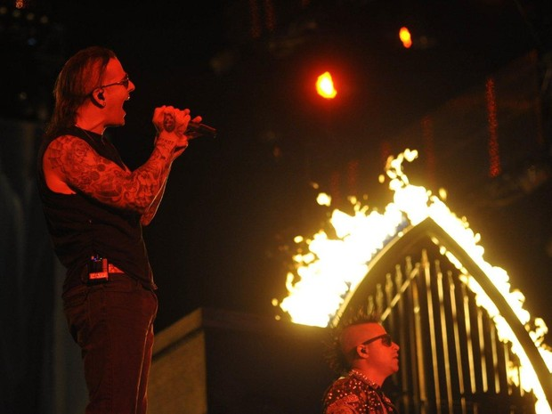 Rock in Rio - Show de Avenged Sevenfold (Foto: Bia Alves/AgNews)