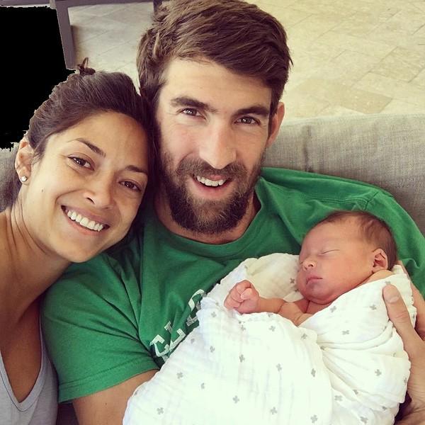 Nicole Johnson e Michael Phelps (Foto: Divulgação)
