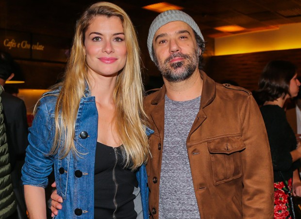 Alinne Moraes e o marido, Mauro Lima (Foto: Manuela Scarpa/Brazil News)