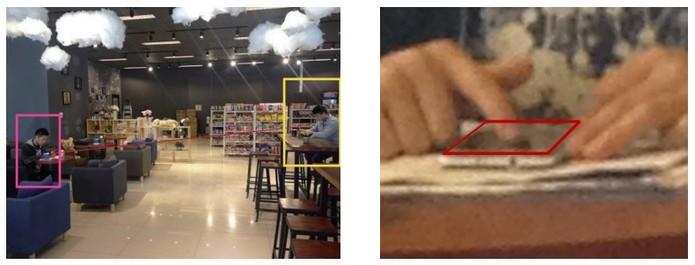 Vídeo grava usuário inserindo senha padrão a 2,5 metros de distância (Foto: Divulgação/Universidade de Lancaster)
