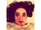 Ex-BBB Francine posta foto com  maquiagem borrada: 'Marvada pinga'