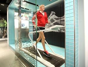 corrida na esteira Paula Radcliffe (Foto: Montagem sobre foto da Getty Images)