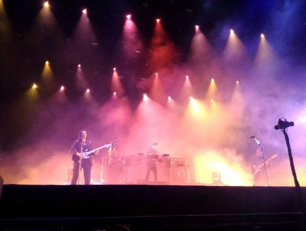The XX no Lollapalooza (Foto: Instagram / Reprodução)