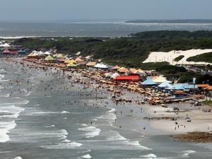 O maior parque aquático de padrão internacional do Norte do Brasil será erguido em Salinas, no polo turístico Amazônia Atlântica (Foto: Divulgação/Agencia Pará)