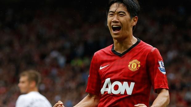Kagawa gol Manchester united (Foto: Reuters)