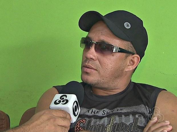 Homem diz que seu pai tratava bem o suspeito, mas que já havia sido ameaçado de morte  (Foto: Reprodução/Rede Amazônica Acre)