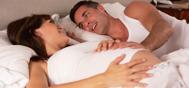 Movimento do bebê na barriga (Foto: Shutterstock)