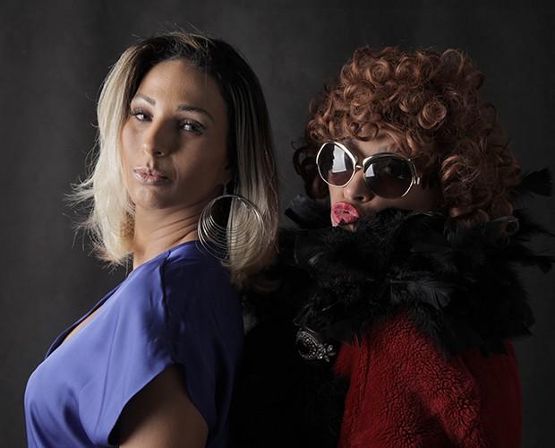 Valesca Popozuda e Suzana Pires falam sobre moda em evento da nova websérie (Foto: Fabiano Battaglin/ Gshow)
