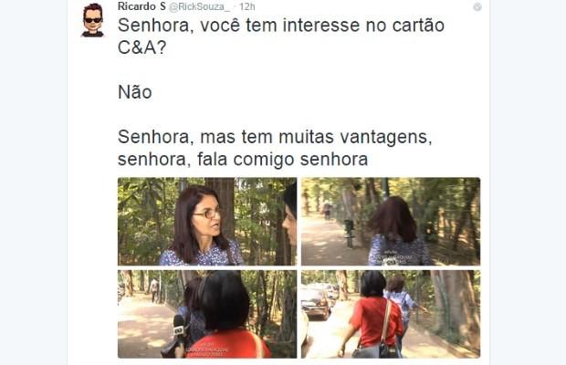 Internauta faz piada com resposta de servidora da Assembleia Legislativa de Goiás (Foto: Reprodução/ Instagram)