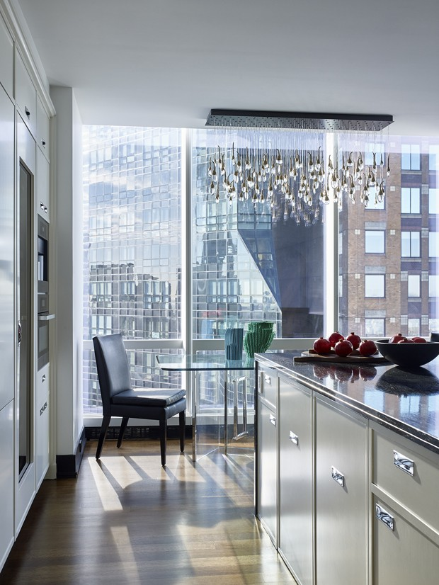 West 57th St apartment, NYC  Interior Design: Frampton Co. (Foto: Curated/Divulgação)