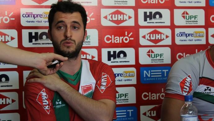 Lucas Roggia - Passo Fundo (Foto: Reprodução / Facebook do EC Passo Fundo)