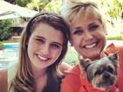 Debby Lagranha registra dia de gravação com Xuxa: 'Especial'