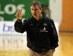 Rubén Magnano técnico seleção basquete (Foto: Gaspar Nóbrega / Inovafoto)