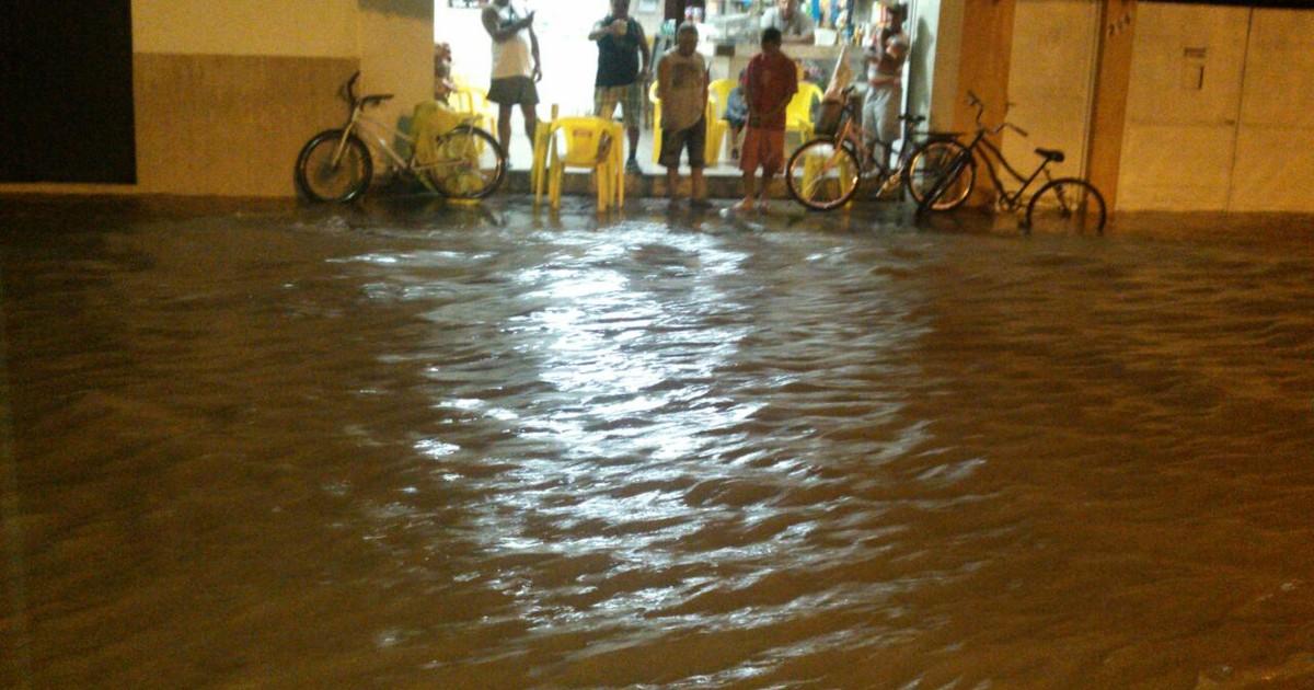 Balanço das chuvas em Lorena
