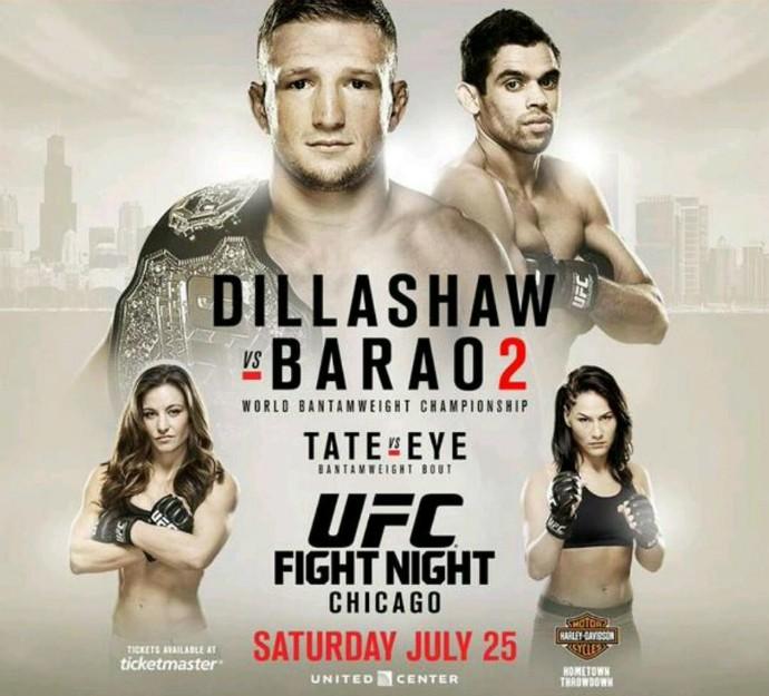 Pôster UFC: Barão x Dillashaw 2