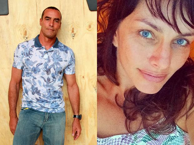 Paulo Zulu e Cassiana Mallmann (Foto: Celso Tavares/ EGO | Reprodução/ Instagram)