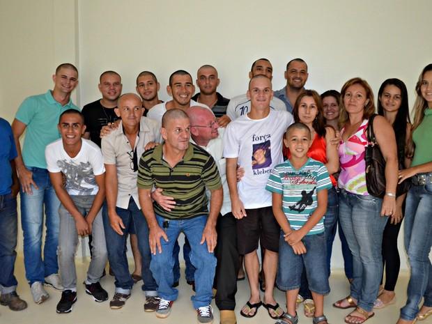Amigos campanha em Rio Branco  (Foto: Tácita Muniz)