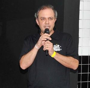 Armênio Neto, gerente de marketing do Santos (Foto: divulgação / Santos FC)