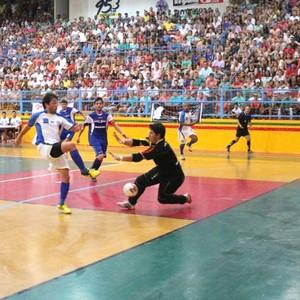 Final do futsal de Dracena (Foto: Cláudio José / Cedida)