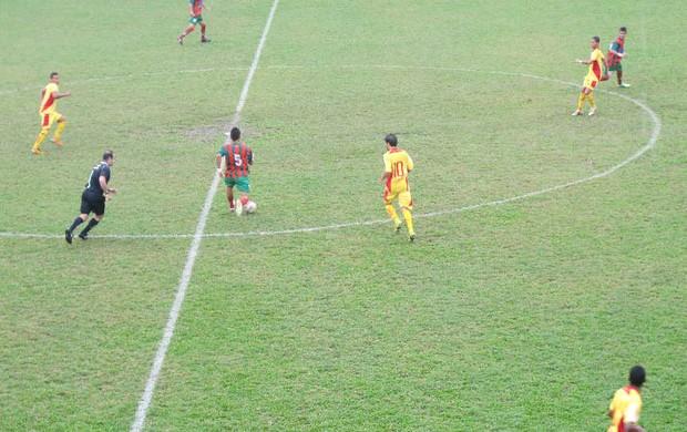 Portuguesa Santista se despede sem nenhuma vitória (Foto: Bruno Gutierrez / Globoesporte.com)