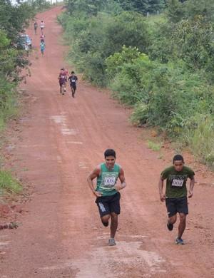 Corrida da Serra dos Parecis, realizada em Guajará-Mirim (Foto: Semcet / Divulgação)