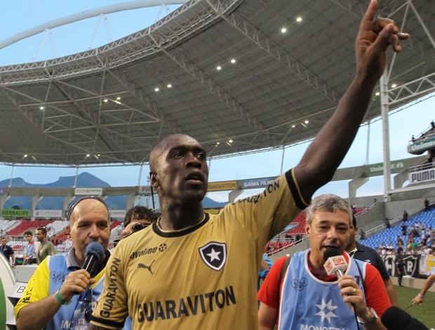 Seedorf, Botafogo campeão da Taça Guanabara (Foto: Luciano Belford/Agência Estado)