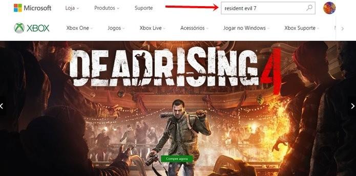 Demo de Resident Evil 7 está disponível para download no Xbox One (Foto: Reprodução/Felipe Demartini)