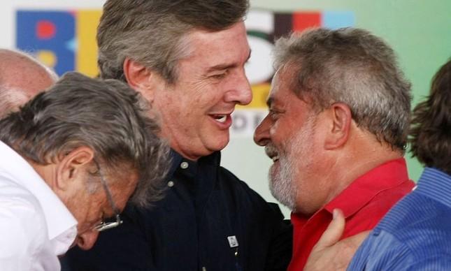 O ex-presidente Lula e o senador Fernando Collor  (Foto: Divulgação)