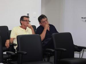 Policiais civis acusados do assassinato de Décio Sá (Foto: Diego Chaves/O Estado)