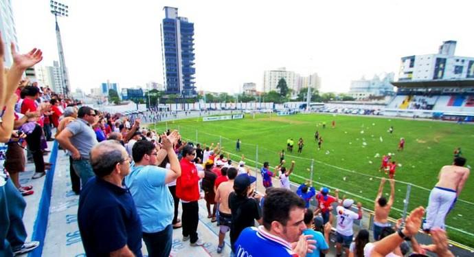 Marcílio Dias Itajaí Estádio Dr. Hercílio Luz (Foto: Divulgação/CNMD)