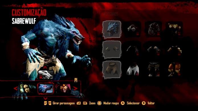Killer Instinct: aprenda a customizar o visual dos personagens (Foro: Reprodução/Murilo Molina)