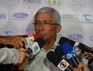 Givanildo Oliveira, treinador do Treze (Foto: João Brandão Neto/GloboEsporte.com)