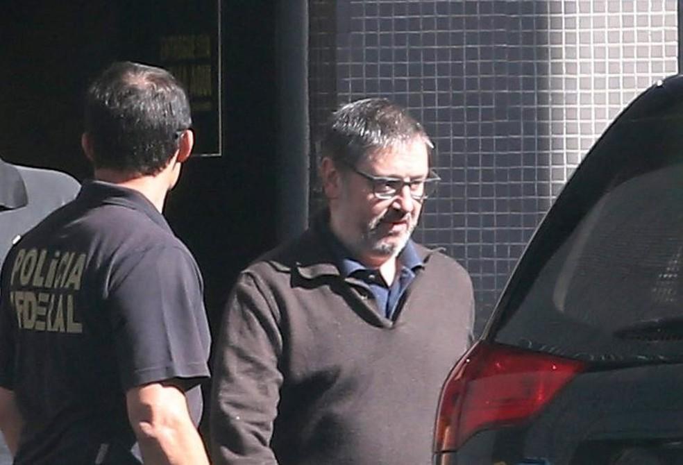 O ex-deputado Rodrigo Rocha Loures deixa recebeu tornozeleira eletrônica em Goiânia (Foto: André Dusek / Estadão Conteúdo)
