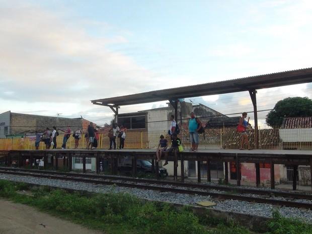Estação Bom Parto 2 (Foto: Vitória Alencar/G1)