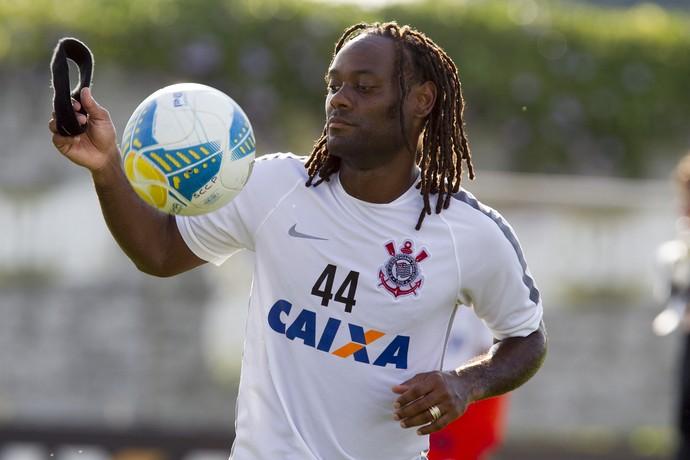 Vagner Love Corinthians (Foto: Daniel Augusto Jr / Agência Corinthians)
