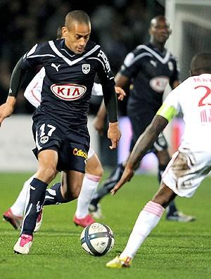 Wendel na partida do Bordeaux contra o Lille (Foto: AFP)